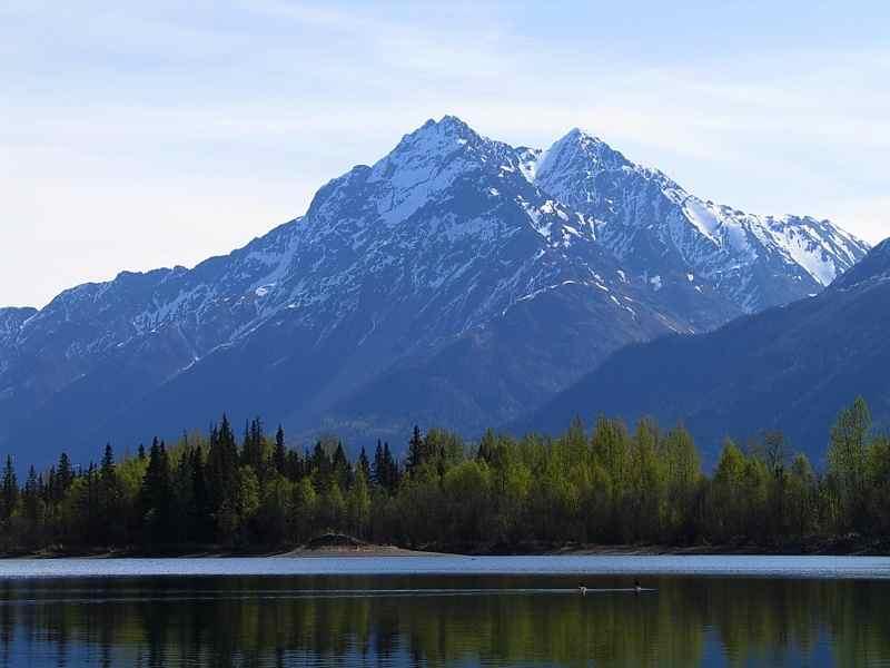 Reflections Lake and Pioneer Peak